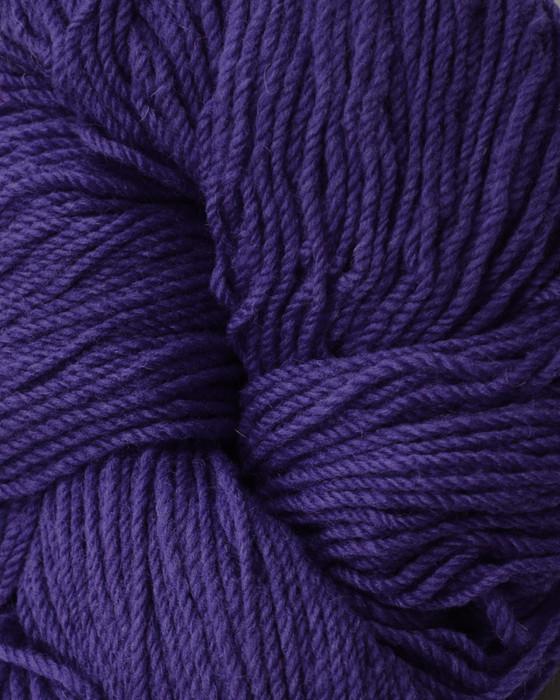 Aran Wool Knitting Hanks - Purple