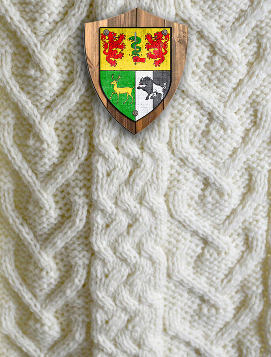 O'Sullivan Clan Aran Throw