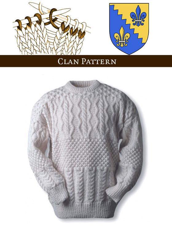 O'Shea Knitting Pattern