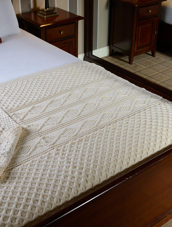 Smith Clan Aran Throw