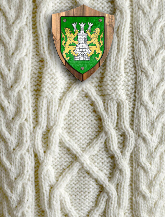 O'Shaughnessey Clan Aran Throw