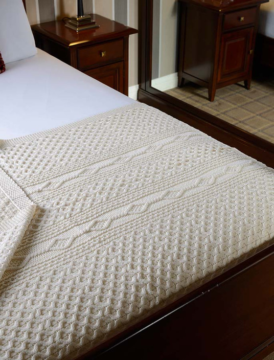 Duffy Clan Aran Throw