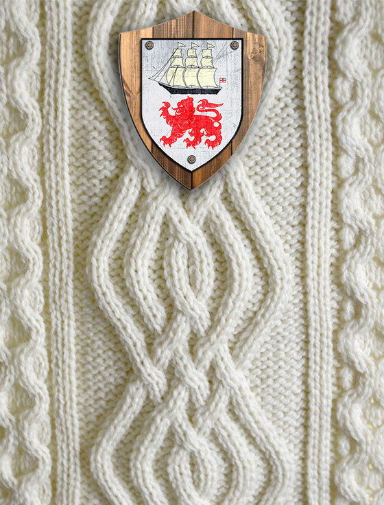 O'Leary Clan Aran Throw