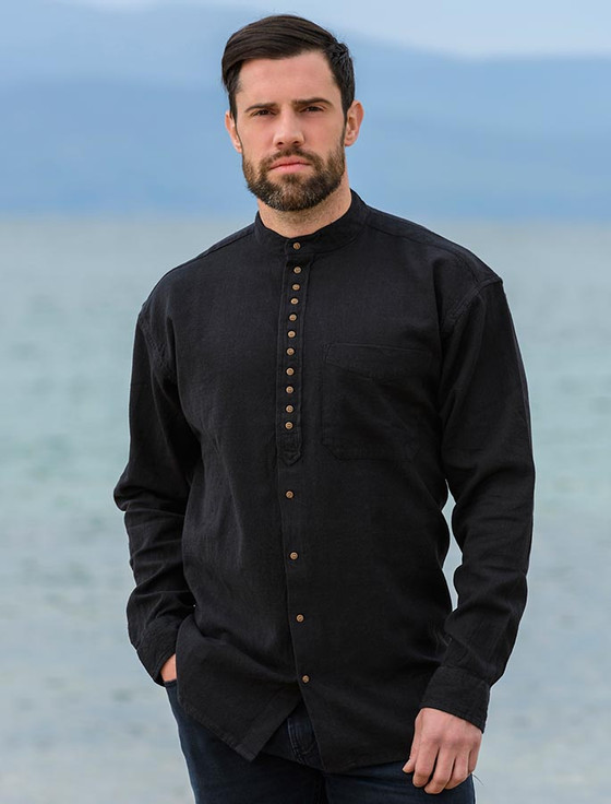 Grandfather Shirt - Motor Black