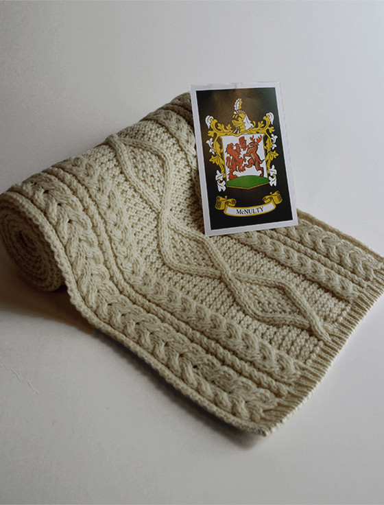 Mc Nulty Clan Scarf