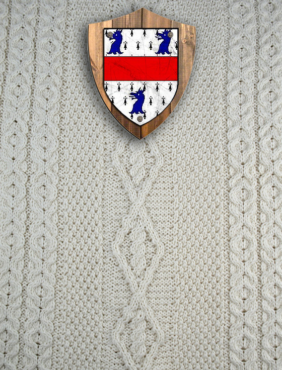 Miller Clan Aran Throw
