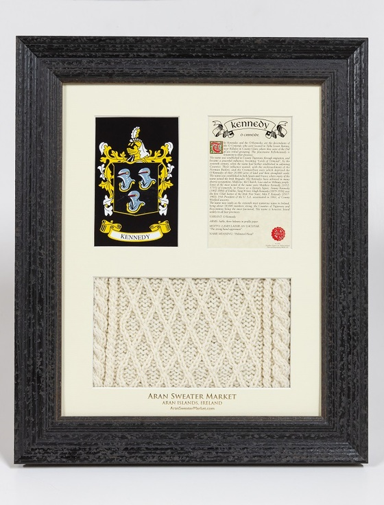 Kennedy Clan Aran & History Display