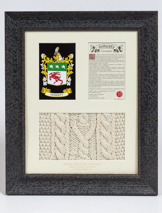 Doherty Clan Aran & History Display