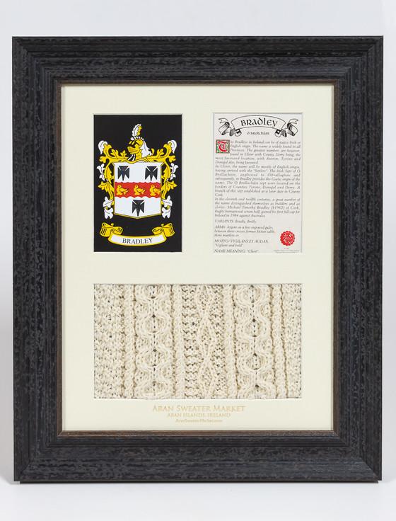 Bradley Clan Aran & History Display