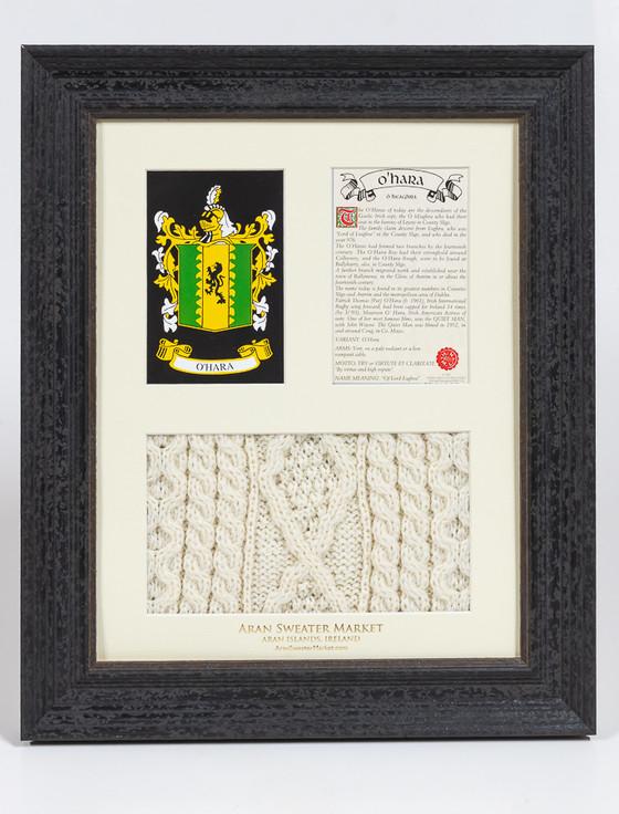O'Hara Clan Aran & History Display