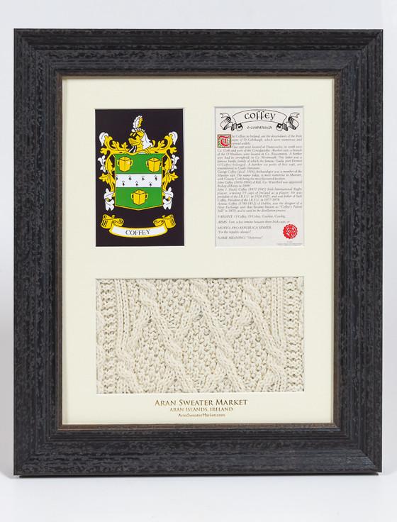 Coffey Clan Aran & History Display