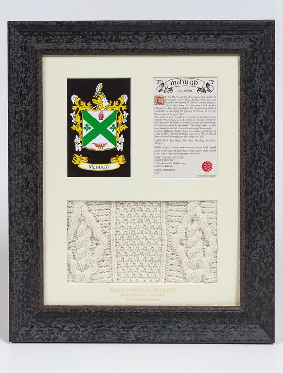 Mc Hugh Clan Aran & History Display