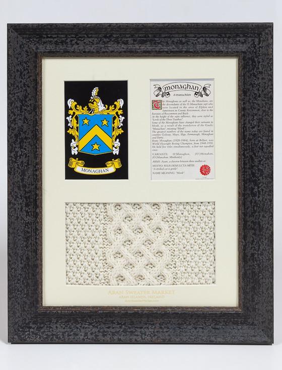 Monaghan Clan Aran & History Display