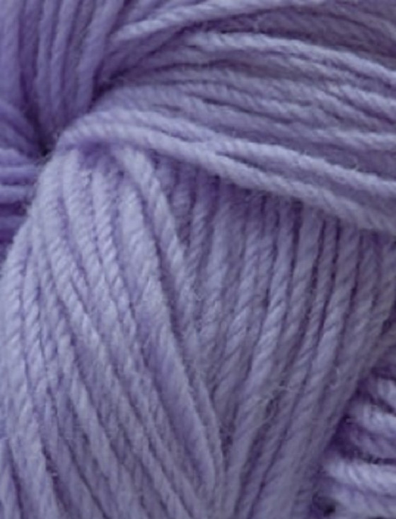 Aran Wool Knitting Hanks - Lilac