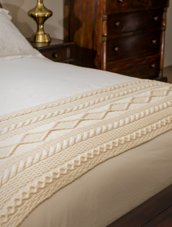 Murray Clan Aran Bed Runner