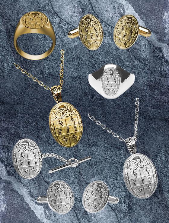 Murphy Clan Heraldic Jewelry