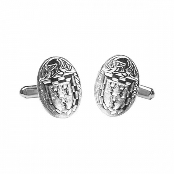 Doyle Clan Official Large Cufflinks Sterling Silver