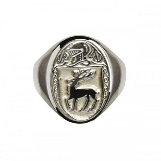 McCarthy Clan Official Sterling Silver Ring