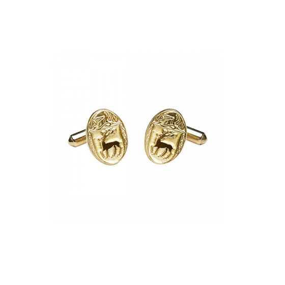 McCarthy Clan Official Medium Cufflinks 10K Gold
