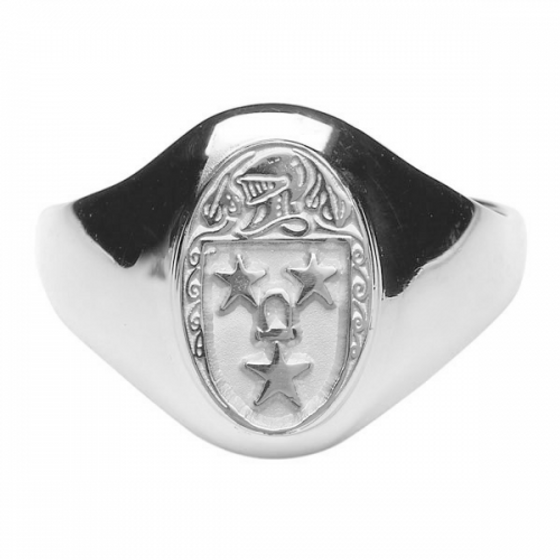 Murray Clan Official Ladies Sterling Silver Ring