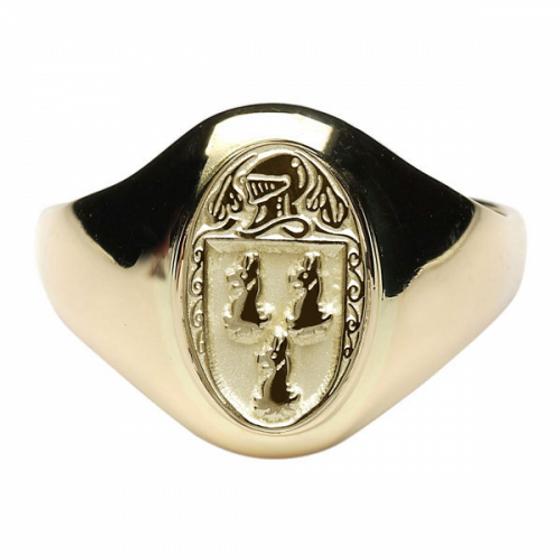 Ryan Clan Official Ladies 10K Gold Ring