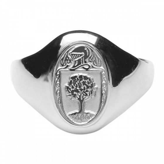 O'Connor Clan Official Ladies Sterling Silver Ring