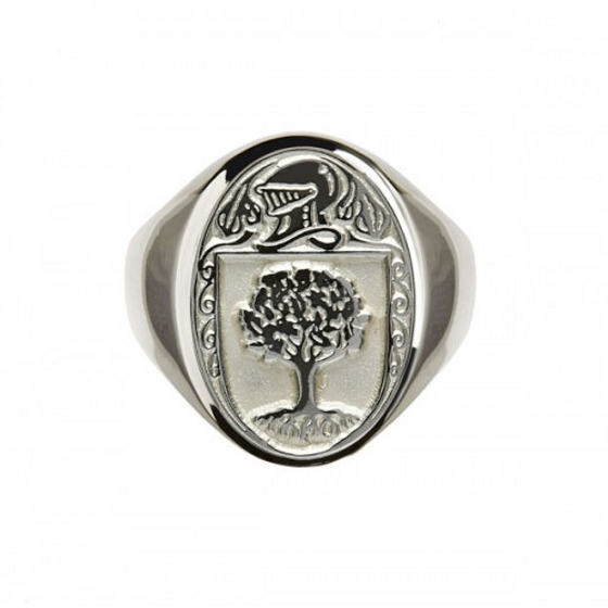 O'Connor Clan Official Sterling Silver Ring