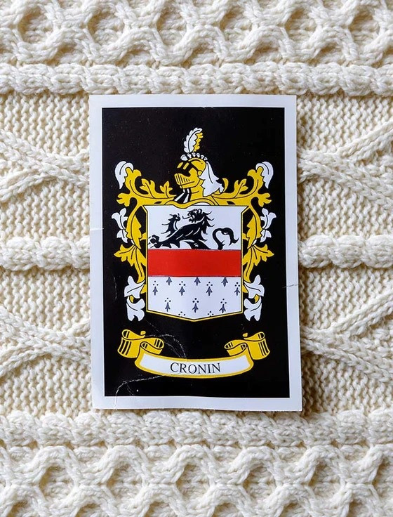Cronin Clan Aran Bed Runner