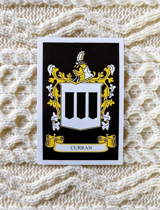 Curran Clan Aran Bed Runner