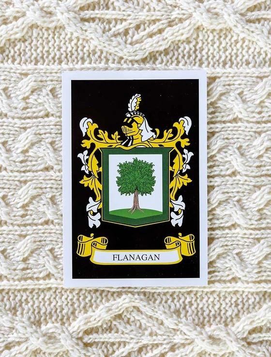 Flanagan Clan Aran Bed Runner