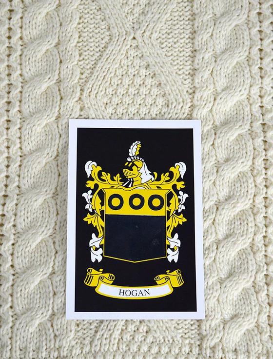 Hogan Clan Aran Bed Runner
