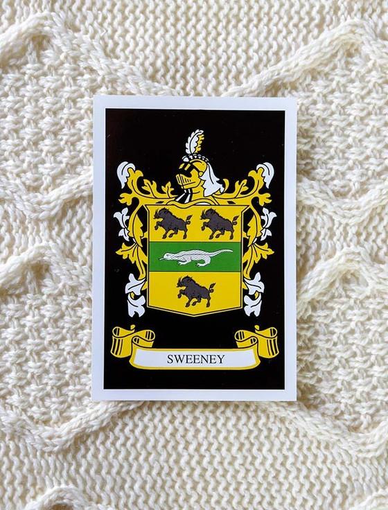 Sweeney Clan Aran Bed Runner