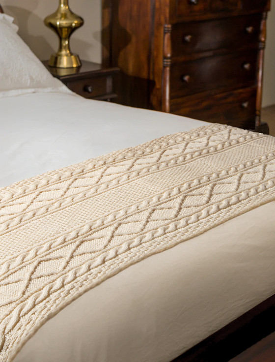 Ward Clan Aran Bed Runner
