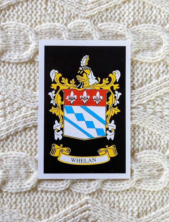 Whelan Clan Aran Bed Runner