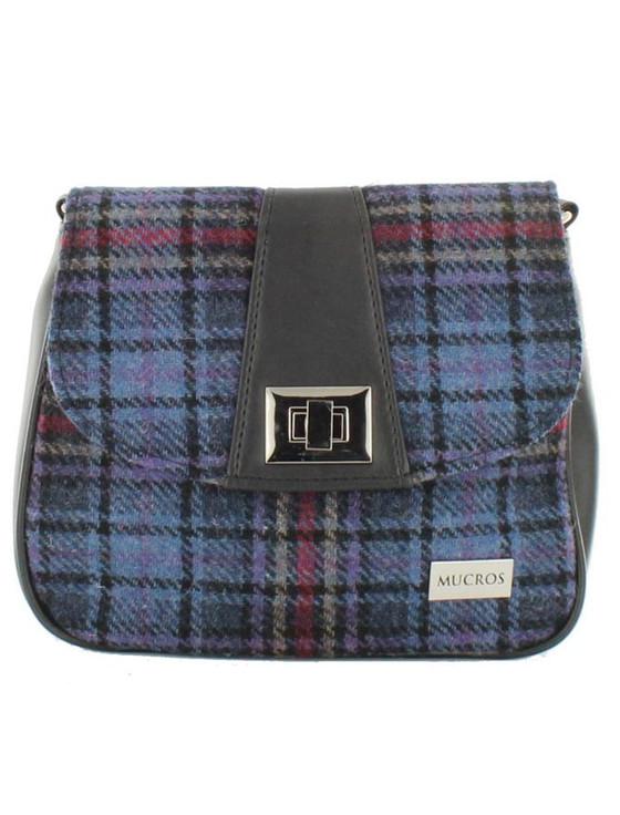 Sarah Tweed Bag - Blue & Red Plaid