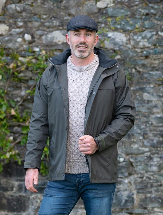 Kingston Men's Waterproof Jacket - Olive
