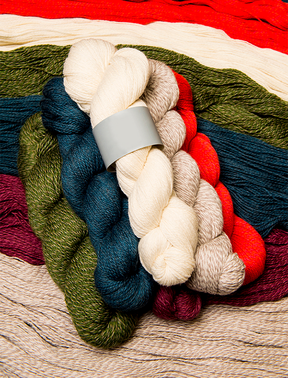 Super Soft Merino Wool Knitting Hanks - Bundle