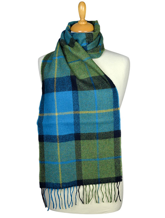 Lambswool Scarf - Shannon Check