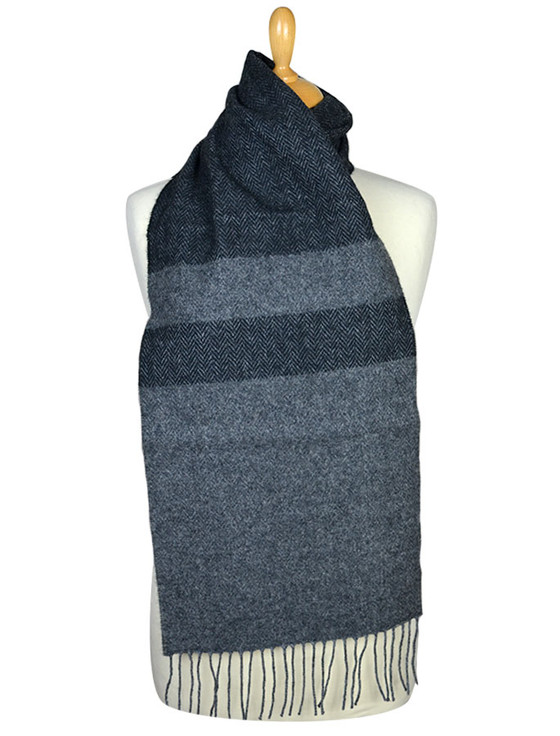 Lambswool Scarf - Shades of Grey