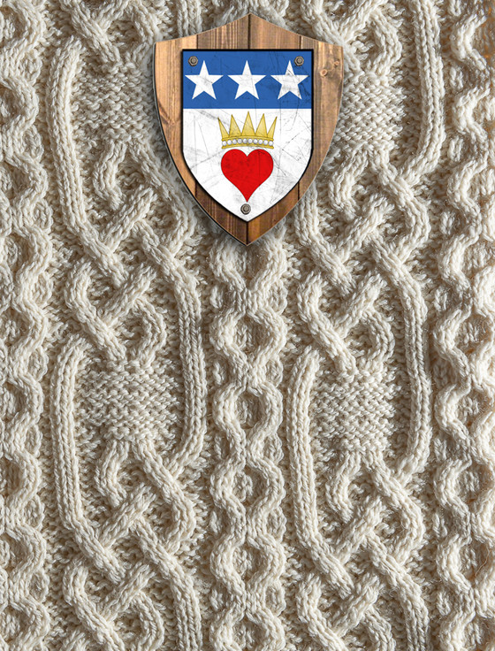Douglas Clan Aran Throw