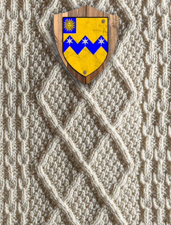 Thompson Clan Aran Throw