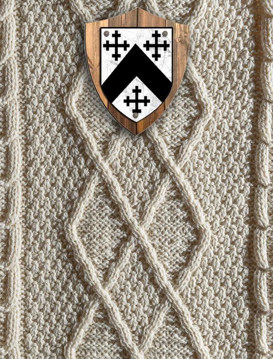 Anderson Clan Aran Throw