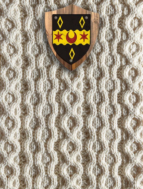 Mitchell Clan Aran Throw