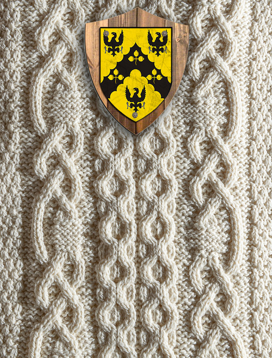 Shaw Clan Aran Throw