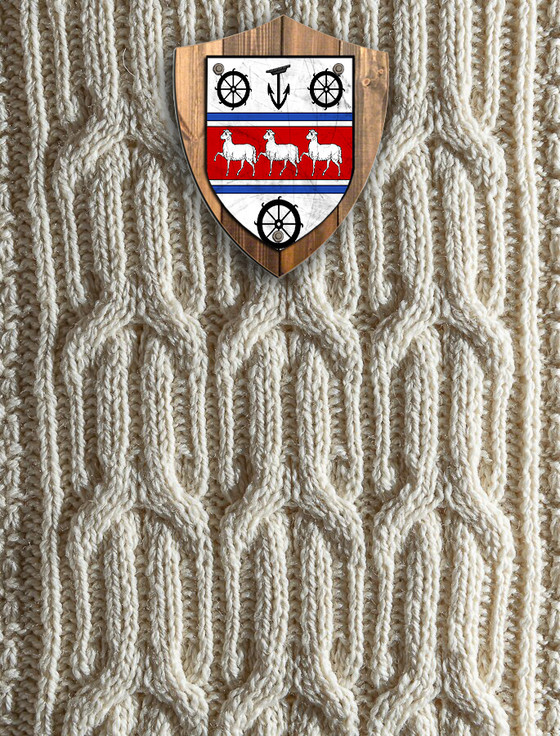 Scott Clan Aran Throw