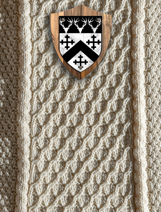 Walker Clan Aran Throw