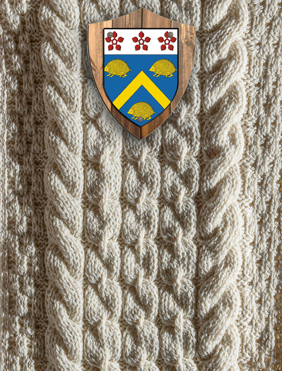Harris Clan Aran Throw