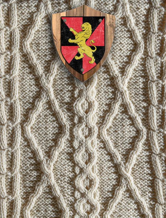 Matthews Clan Aran Throw