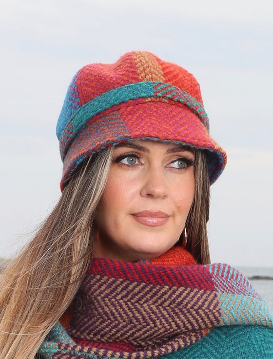 Wool County Hat - Donegal Red