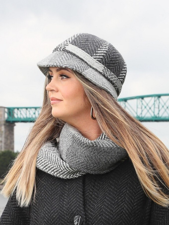 Wool County Hat - Donegal Grey